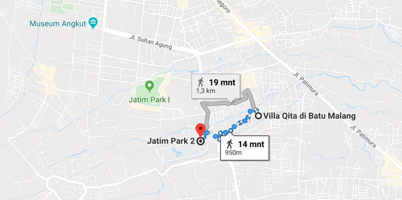 lokasi Villa Qita